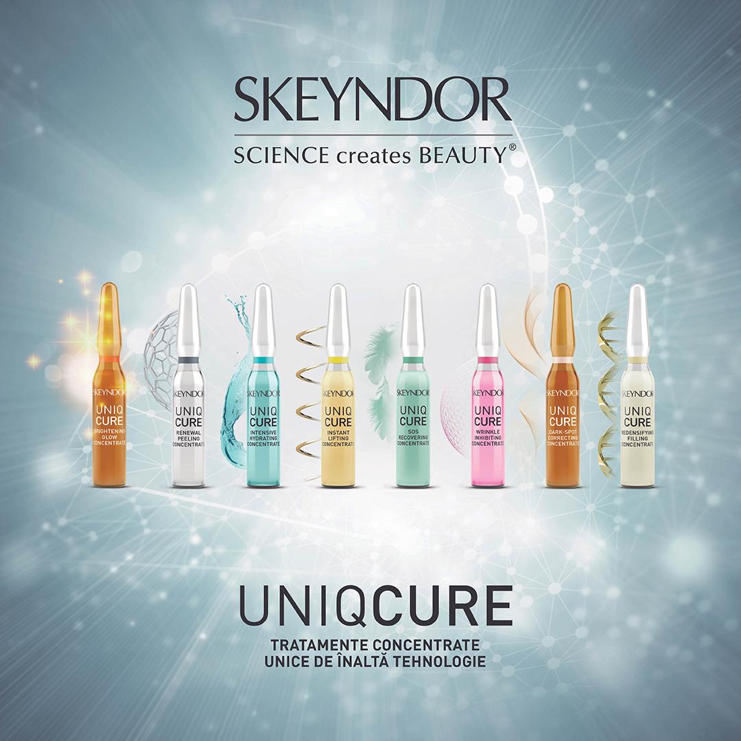 UNIQCURE - Solutii unice si specifice pentru fiecare tip de piele