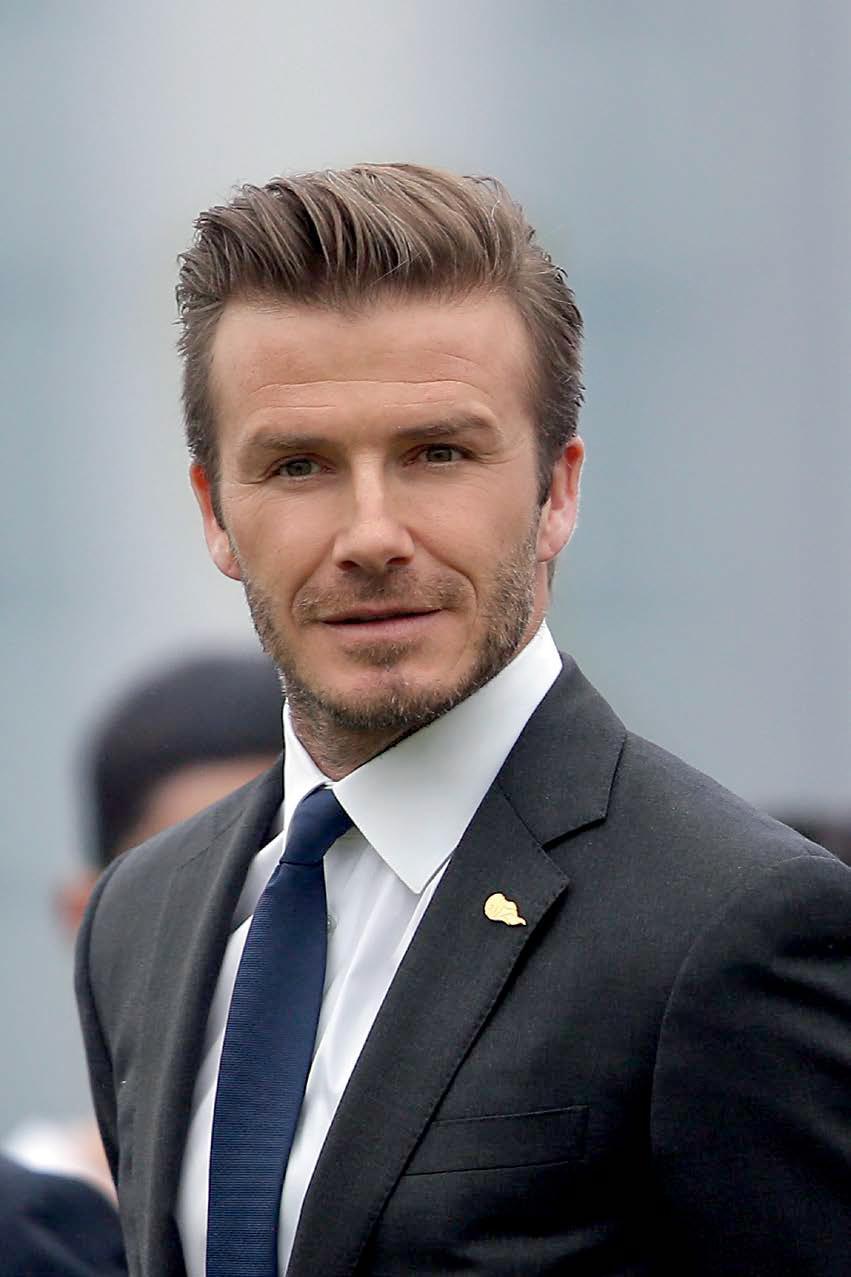 David Beckham Barbatul Cameleonic Getts Highlights