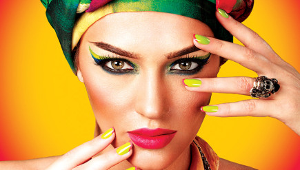 Hottest colours for nails