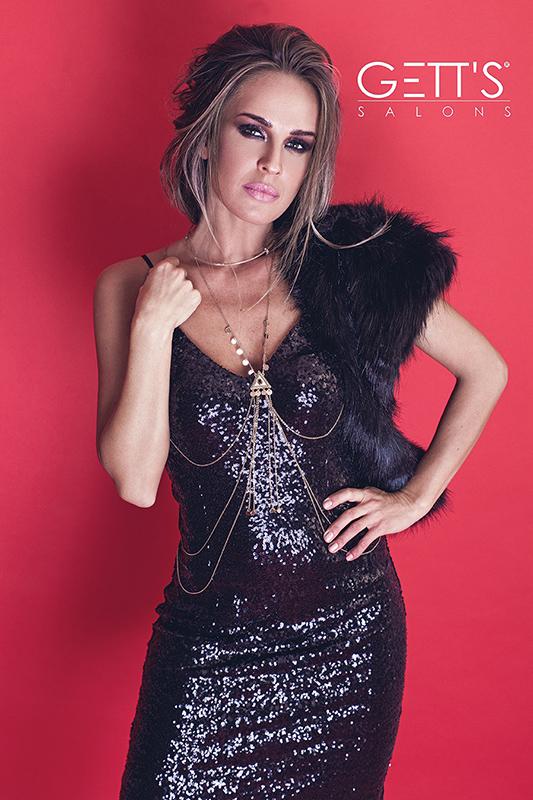 Diana Munteanu-Covered in glam