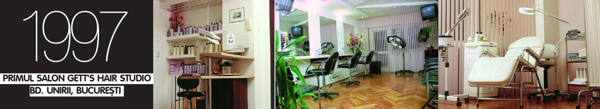 PRIMUL_SALON_GETT'S _Hair_Studio_Bd _UNIRII_BUCURESTI