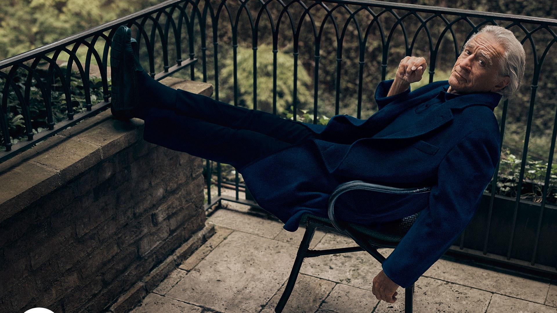 Robert De Niro pe coperta British GQ