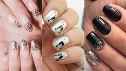 Idei cool de unghii pentru Revelion