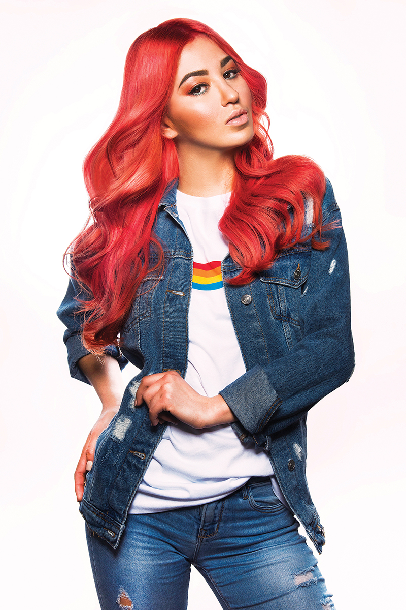 Hair trends: vibrant colors