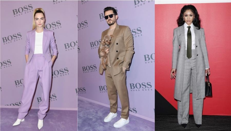 Celebritatile surprinse la Milan Fashion Week