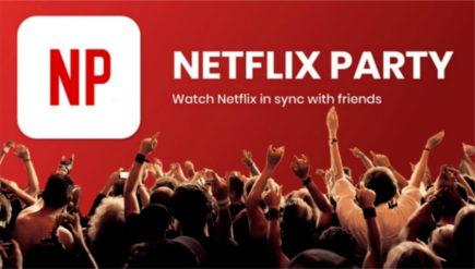 Netflix Party de acasa: vizionarea filmelor in timp real alaturi de prieteni