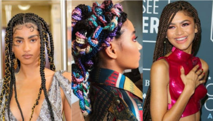 Hairstyle trends: impletiturile