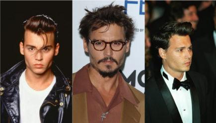 Celebrity looks: Johnny Depp