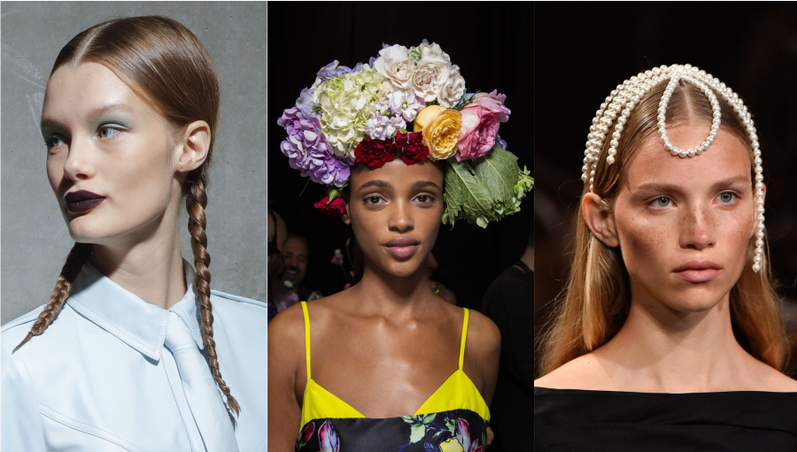 Hair trends: heads on the runaway