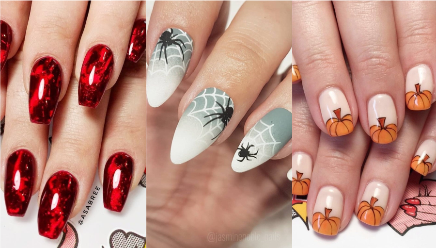 Idei de manichiura pentru Halloween