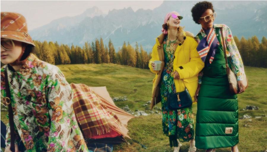 Noua colaborare a anului: Gucci alaturi de The North Face brandul de echipamente sportive
