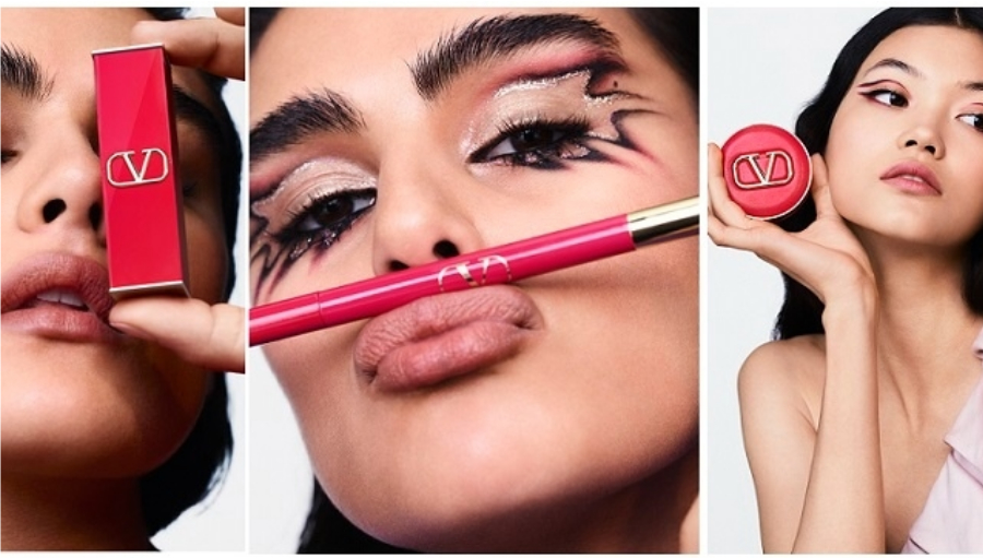 Valentino lanseaza prima linie de makeup