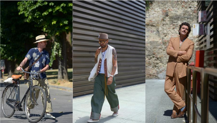 Men street style: Aparitiile de la show-ul Pitti Uomo 2021