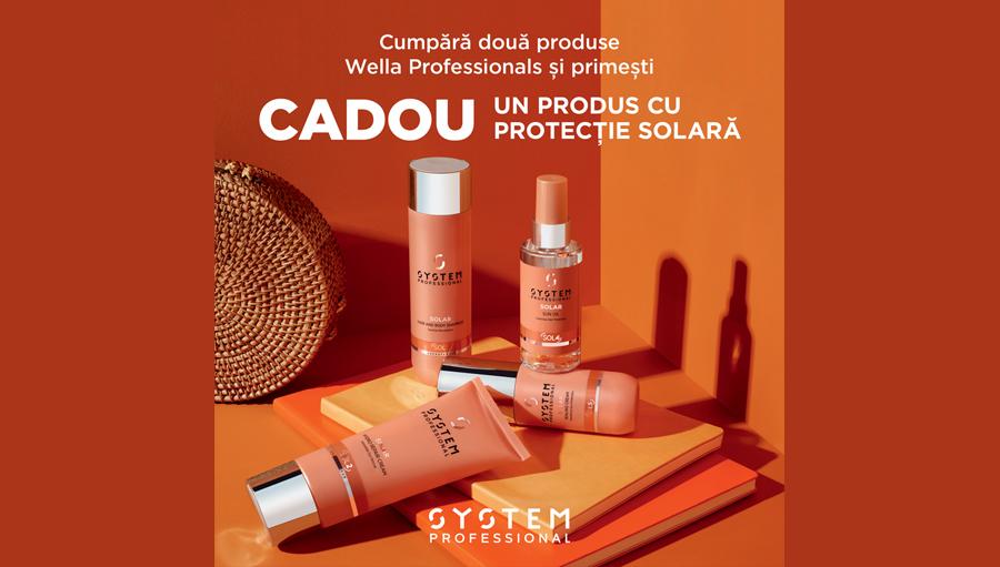 Cumpara 2 produse Wella Professionals si primesti CADOU un produs cu protectie solara